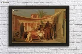 Seeking Painting Socrates Seeking Alcibiades In The House Of Aspasia Jean