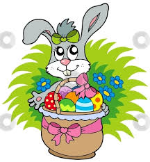 easter bunny baskets vector and clipart easter basket bunny 12177 favorite clipartfan
