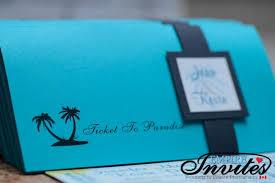 wedding invitations jamaica teal boarding pass wedding invites to royalton white sands jamaica