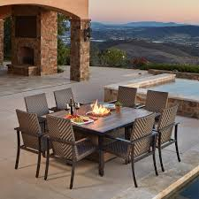Agio 7 Piece Patio Dining Set - dining sets costco