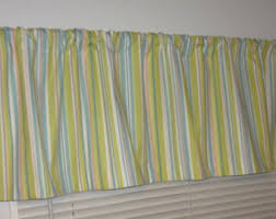 Lime Green Valances Curtain Valance Topper Window Treatment 52x15 Covington Whimsy