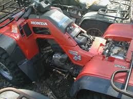 just bought my first fourtrax 86 350 honda foreman forums