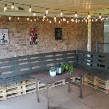 learn how to make outdoor patio furniture from pallets add