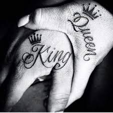 king and queen tattoo for couples 26 dzine mag