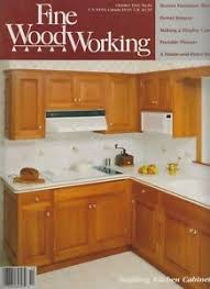 building kitchen cabinets wood working october 1990 building kitchen cabinets