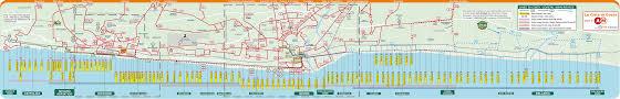 Transport Map Public Transport In Rimini