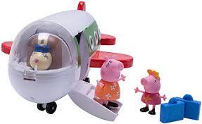 peppa pig peppa u0027s holiday plane toys