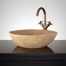 carved stone sink signature hardware