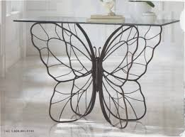 cast iron glass table butterfly cast iron glass top table furniture pieces pinterest