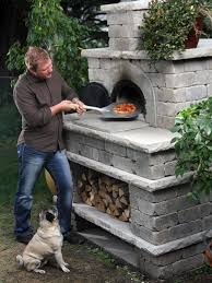 Build Brick Oven Backyard by 98 Best Pizza Ovens Images On Pinterest Outdoor Oven Outdoor