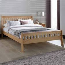 5ft Bed Frame Colchester Oak 5ft Bed Frame By Serene Furnishings