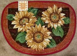 sunflower kitchen rug sets cute sunflower kitchen rugs u2013 the new