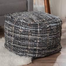 Basket Ottoman by Belham Living Hadley Hexagon Ottoman Hayneedle
