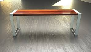 Bench Supports Stainless Steel Bench Legs Gaffney Teak And Stainless Steel Bench