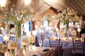 wedding table decorations candle holders decorating ideas enchanting picture of tulip white flower wedding