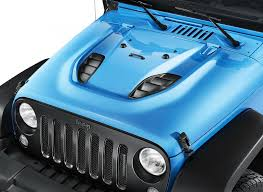 blue jeep 2 door jeep shows off wrangler rubicon with mopar one package welcome