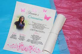 quinceanera picture invitations dhavalthakur com