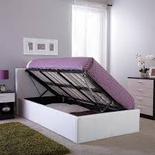 ottomans full size storage bed single bed frame with storage