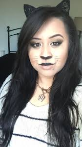 kitty makeup for halloween