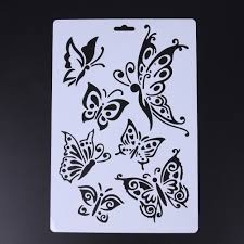 compare prices on butterfly stencil template online shopping buy