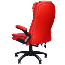Comfortable Chairs To Use At Computer Homcom Executive Ergonomic Heated Vibrating Massaging Office Chair