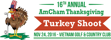 17th annual amcham thanksgiving turkey shoot golf tournament and lunch