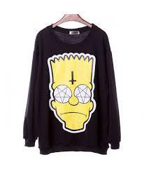 bart sweater sweater cross bart alternative satan