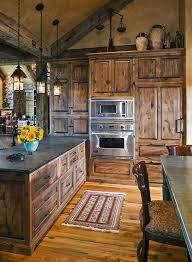 rustic kitchen cabinet ideas 40 rustic kitchen designs to bring country knotty alder
