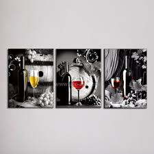 large canvas art cheap wall art picture of grape glasses modern