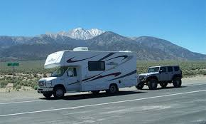 towing a vehicle with your rv rv camping