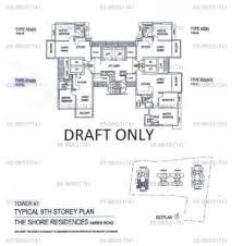 the shore floor plan the shore residences amber road vincentongvirtualhomes