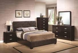 Queen Bedroom Furniture Sets For Apartment Extraordinary Creamy - Dark wood bedroom furniture sets