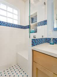 Bathroom Ideas Blue And White Blue And White Tile Bathroom Ideas Thedancingparent