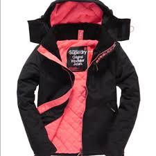 best black friday deals on winter coats sold women superdry hooded windbomber xs pink superdry winter