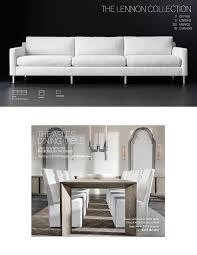 Couch Lengths by Restoration Hardware The Nicholas Oak Table Save 25 On