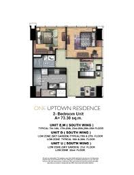 30 sq m one uptown residence condos for sale megaworld fort