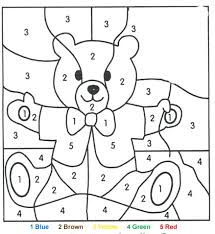 preschool coloring pages with numbers numbered coloring pages cliptext co
