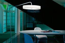 lighting elegant arc floor lamp for interior design with white