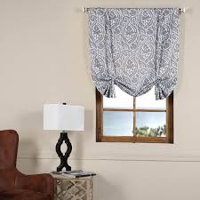 abstract lunar grey tie up blackout curtain