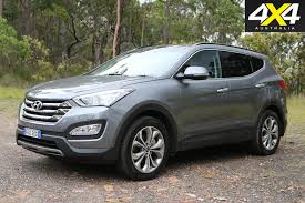 small black jeep hyundai santa fe review 4x4 australia