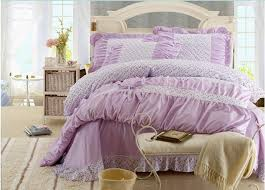 Light Purple Duvet Cover Light Purple Floral Lace Bowtie Girls Bed Sheet And Cover 79