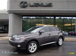 2010 lexus rx 450h awd hybrid in truffle brown mica 411867