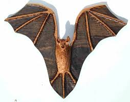 carved wooden animals carved wood bat sculpture garden feature garden sculpture buy