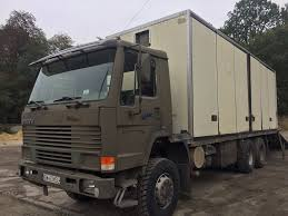 volvo big truck volvo fl 10 closed box trucks for sale box truck from poland buy