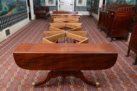Dining Table For 20 Federal Dining Table By Duncan Phyfe Finewoodworking