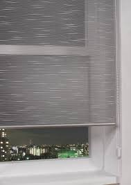 metallic sheer roller blinds luxor silver elegant ready made