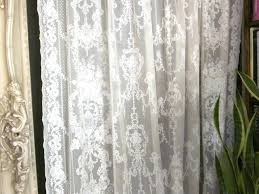 curtain nottingham lace curtains beautiful tailored curtain