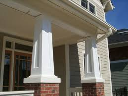 ideas for a porch tapered porch columns craftsman tapered porch