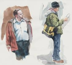 art in a busy world watercolor sketches and a video tutorial