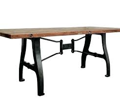 Rustic Metal And Wood Coffee Table Rustic Wood And Metal Dining Table Rustic Wood Metal Square Dining
